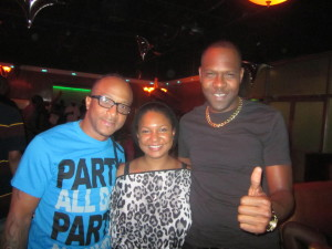 Kerwin Du Bois, Benjai and Marissa prepping for 'I Am Soca' Concert