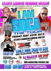 I am Soca Flyer