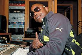 Doug E Fresh in studio 04.14.14