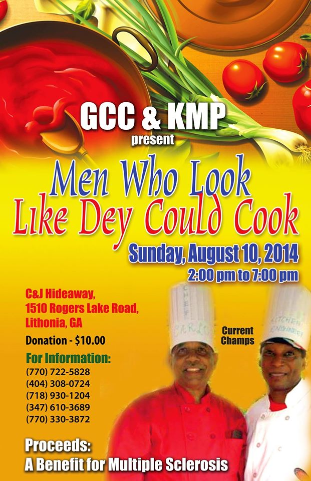 Men who say they could cook Flyer