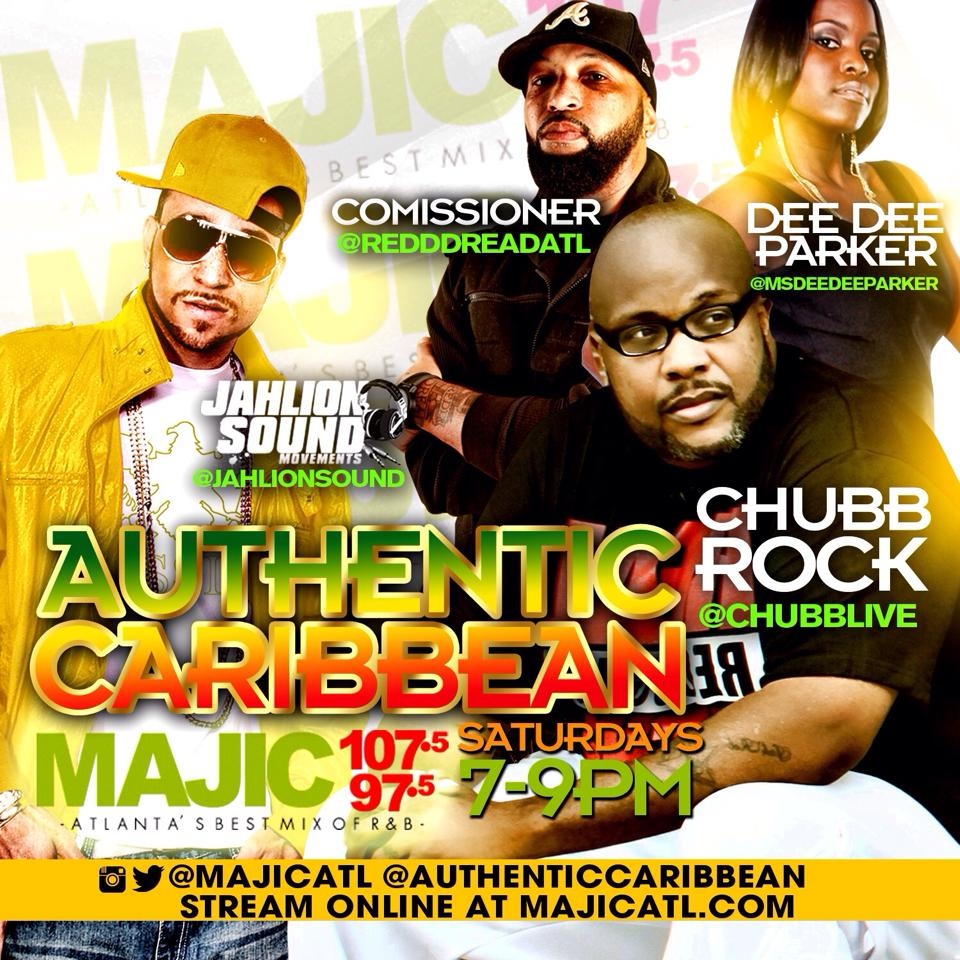 Authentic Caribbean Poster 09.29.14