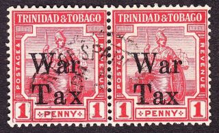 trinidad_kgv_1918_war_tax_sg188189_1d_scarlet__fine_pair__tax__spaced_1_thumb2_lgw