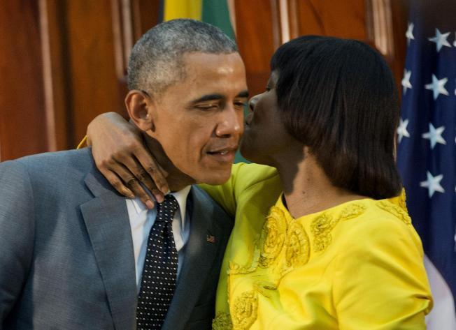 Barack and Portia 04.28.15