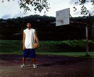 TIM Duncan in USVI on the court he learned to play