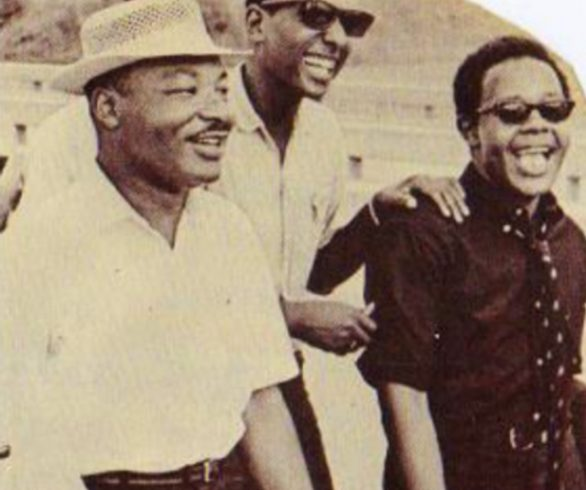 Martin Luther King and Kwame Ture for 2BKaribbean