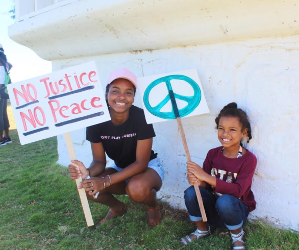 No Justice No Peace in St Croix courtesy of Julian Bishop
