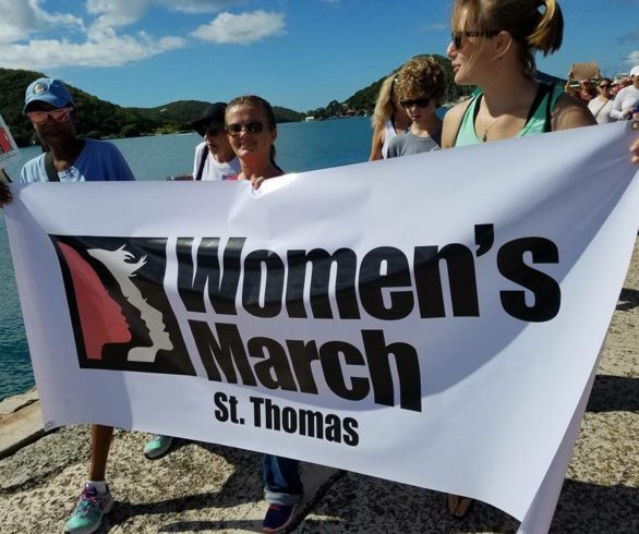 Womens March in St. Thomas VI