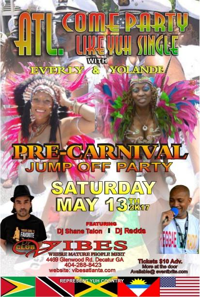 Pre Carnival Party and 2BKaribbean
