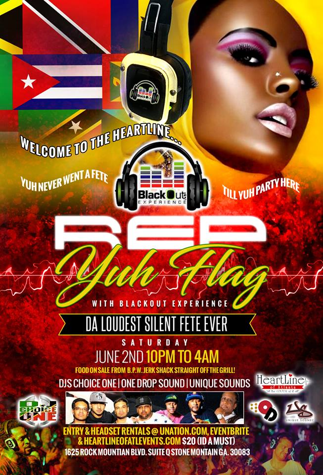 Rep Yuh Flag Silent Party