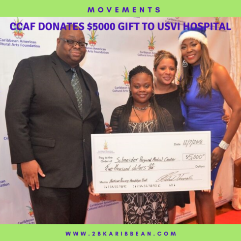 The Caribbean American Cultural Arts Foundation Donates a Five Thousand Dollar Holiday Gift