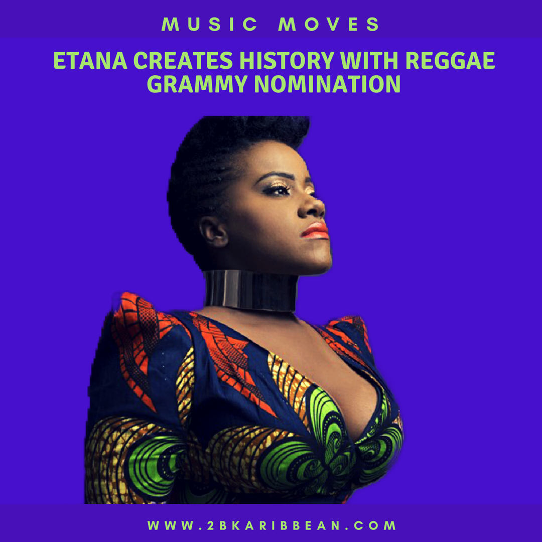 Etana Creates History With Reggae Grammy Nomination
